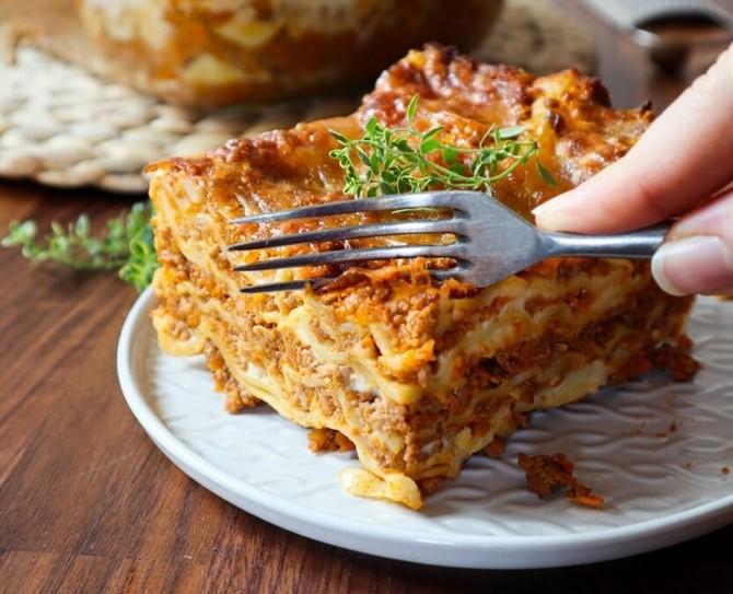 Upečte si o víkendu lasagne