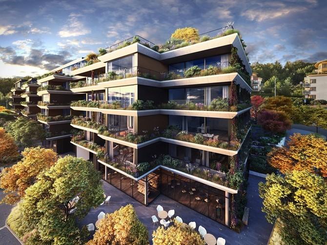 Netradiční koncept bytového domu