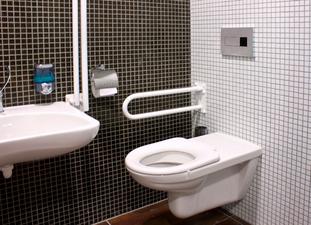 Správná koupelna pro handicapované