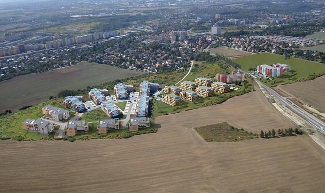 Majitelé se do svých domovů nastěhují ještě letos