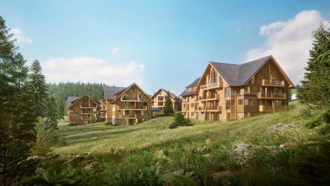 139 apartmánů rekreačního bydlení nebo investici