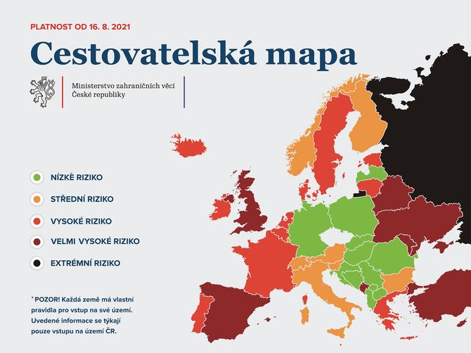 cestovatelská mapa od 16.8.2021