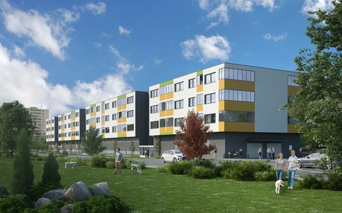 Nové byty v Praze - Letňanech
