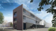 Parkovací dům Mezi Mosty - návrh stavby