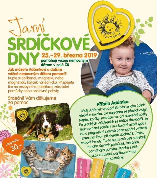 Život dětem pomáhá dětským pacientům v Česku