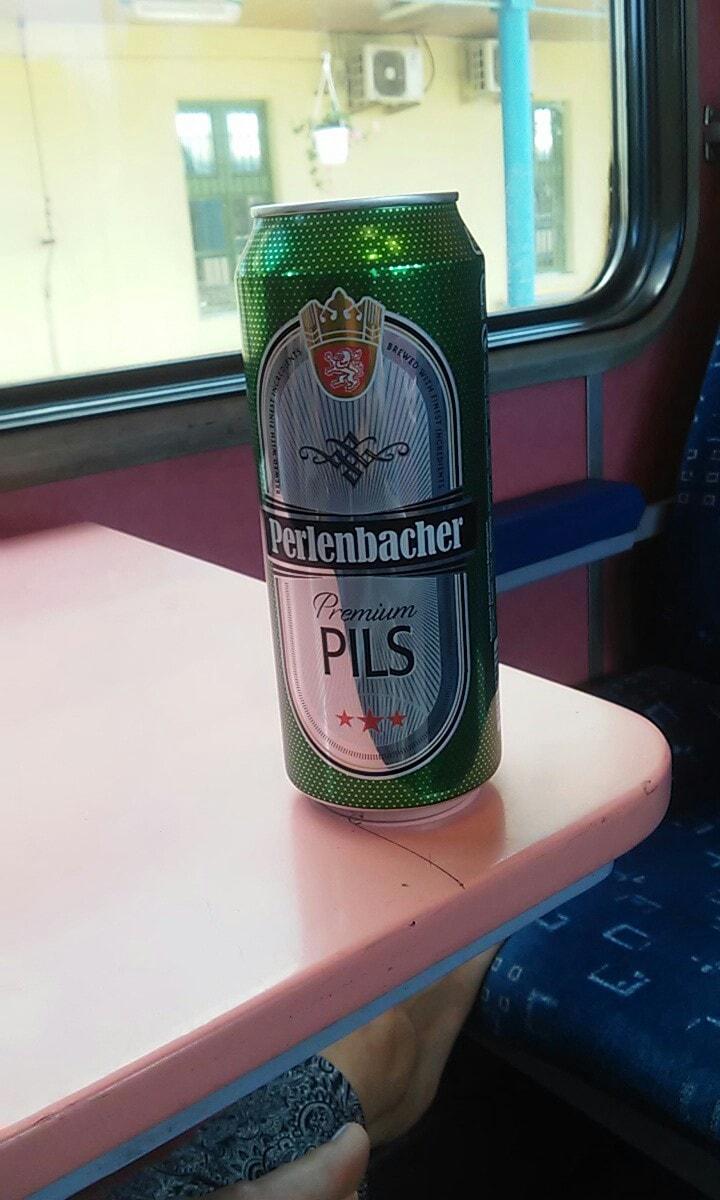 Omezení konzumace vlastního alkoholu ve vlaku