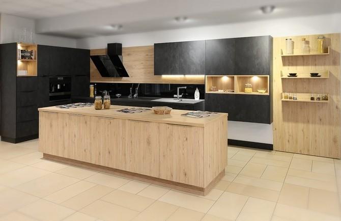 Kuchyně může být i barevně nadčasová