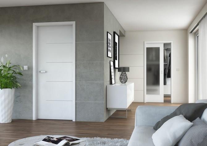 Bílé dveře jako klasika i moderna