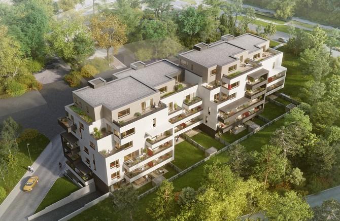 Rezidence Písková nabídne 55  úsporných bytů