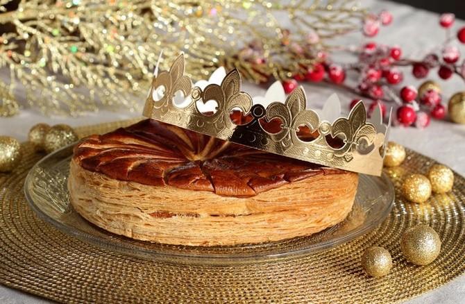 Galette des Rois (Tříkrálový koláč)