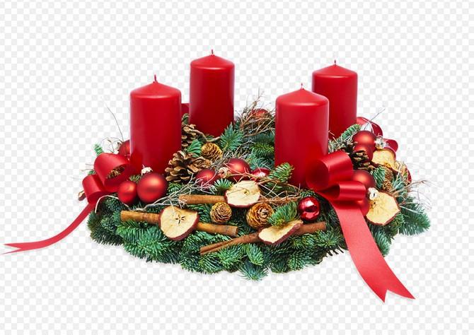 Červená barva je dominantní vánoční barvou