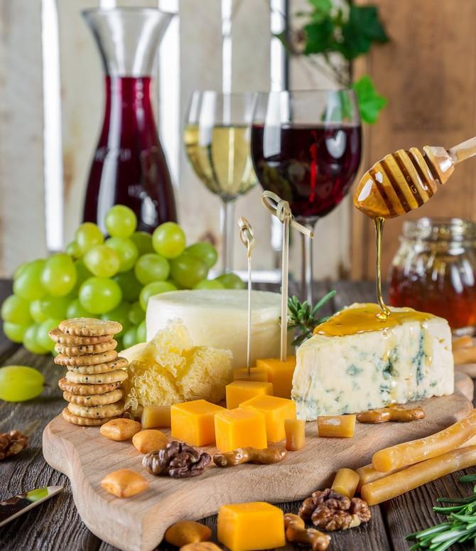 Sýr a víno - výborná kombinace