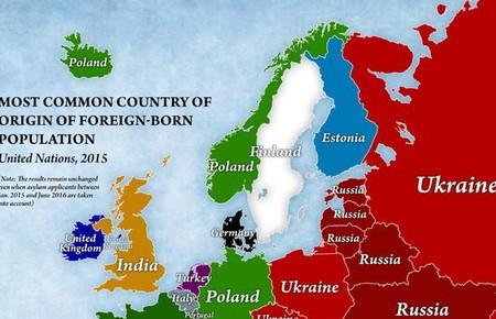 Imigrace v Evropě: 4 mapy, díky kterým možná změníte názor