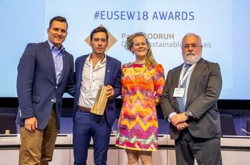 Ocenění EU Sustainable Energy Award je vlajkovou lodí Evropské komise