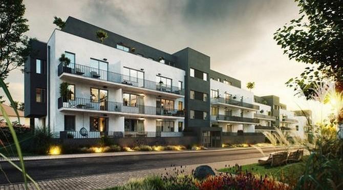 Projekt G residence nabízí celkem 97 bytů