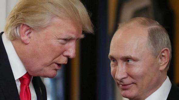 Prezidenti D. Trump a V. Putin