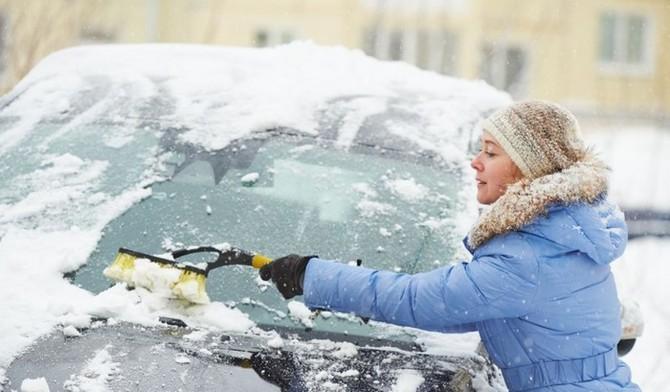 Zimní parkování venku s sebou nese některá rizika