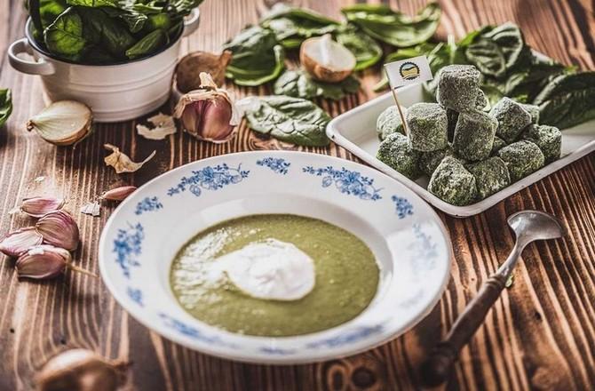 Můžete těšit na dokonale vyváženou polévku