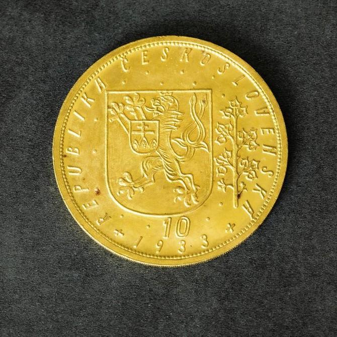 svatováclavský desetidukát z roku 1933