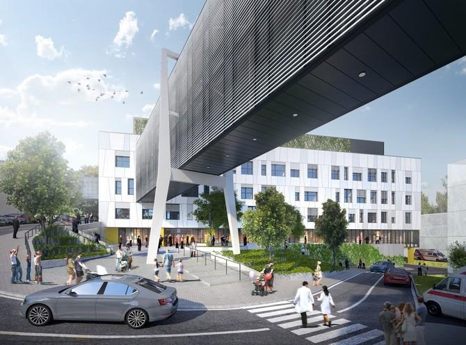 Projekt nového pavilonu Nemocnice Pelhřimov