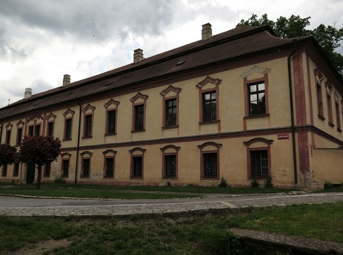 Barokní zámek v Načeradci bude 10.9.19 dražený