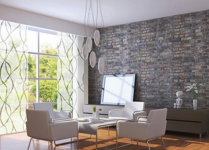 Rozdělení místnosti pomocí japonské stěny
