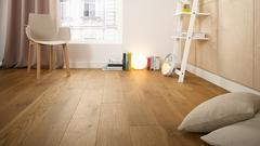 Údržba dřevěné podlahy